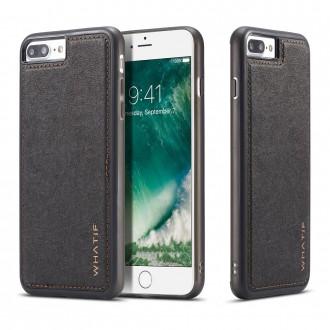 Coque iPhone 8 / 7 noire rigide - Whatif