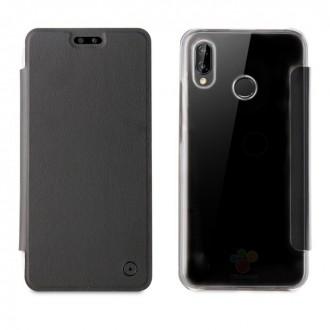 Etui Huawei P20 Folio Noir - Muvit