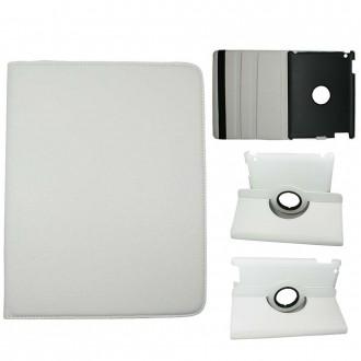 Etui iPad 2 / 3 / 4 blanc rotatif 360 degrés - Crazy Kase
