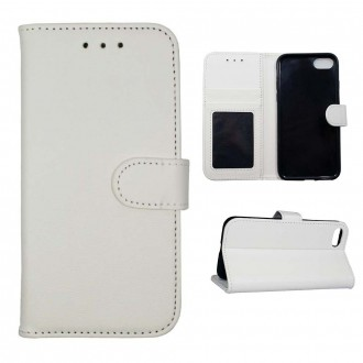 Etui iPhone 8 / 7 Blanc Porte cartes - Crazy Kase