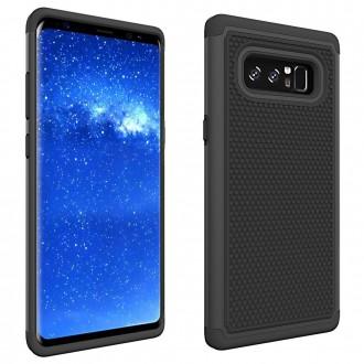 Coque Galaxy Note 8 Anti-choc et Bi-matière Noire - Crazy Kase