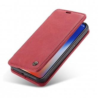 Etui iPhone X Folio Rouge - CaseMe