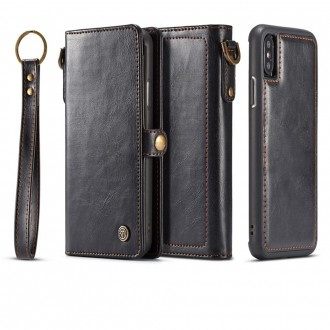 Etui iPhone X Noir Porte-cartes - CaseMe