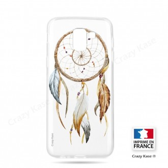 Coque Galaxy J6 (2018)  souple motif Attrape Rêves Nature - Crazy Kase