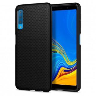 Coque Galaxy A7 (2018) Noire Mat - Spigen