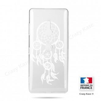 Coque Sony Xperia XZ3 souple motif Attrape Rêves Blanc - Crazy Kase