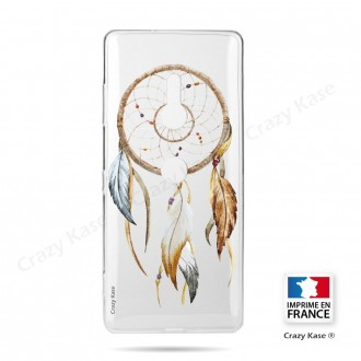 Coque Sony Xperia XZ3 souple motif Attrape Rêves Nature - Crazy Kase