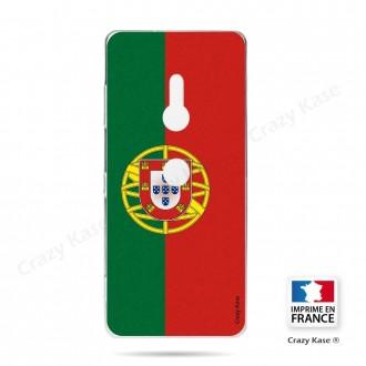 Coque Sony Xperia XZ3 souple motif Drapeau Portugais - Crazy Kase