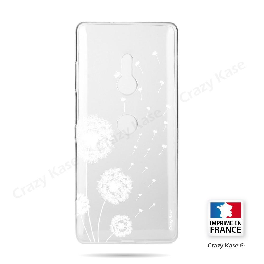 Coque Sony Xperia XZ3 souple Fleurs de pissenlit - Crazy Kase