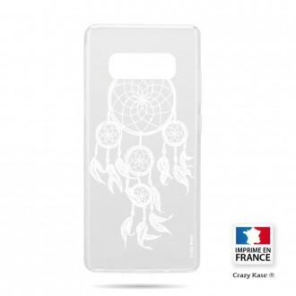 Coque Galaxy S10 souple motif Attrape Rêves Blanc - Crazy Kase