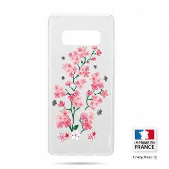 Coque Galaxy S10 souple motif Fleurs de Sakura - Crazy Kase
