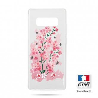Coque Galaxy S10 souple motif Fleurs de Cerisier - Crazy Kase