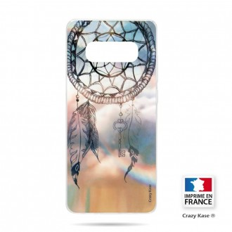 Coque Galaxy S10 souple motif Attrape rêves  - Crazy Kase