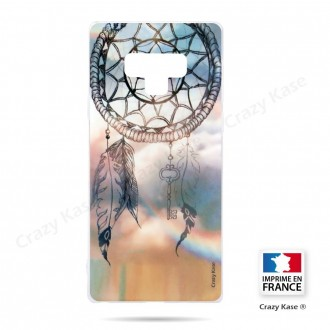 Coque Galaxy Note 9 souple motif Attrape rêves  - Crazy Kase