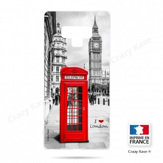 Coque Galaxy Note 9 souple Londres -  Crazy Kase