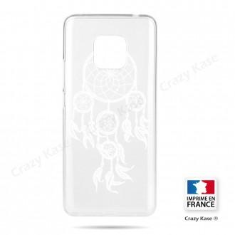 Coque Huawei Mate 20 Pro souple motif Attrape Rêves Blanc - Crazy Kase