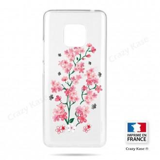 Coque Huawei Mate 20 Pro souple motif Fleurs de Sakura - Crazy Kase