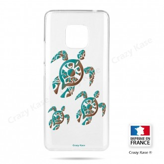 Coque Huawei Mate 20 Pro souple motif Famille Tortue - Crazy Kase