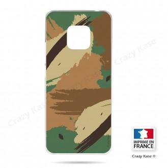 Coque Huawei Mate 20 Pro souple motif Camouflage - Crazy Kase