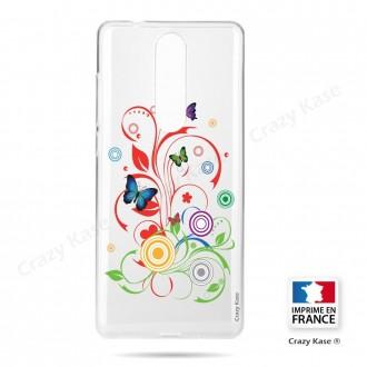 Coque Nokia 5.1 souple motif Attrape Rêves Blanc - Crazy Kase