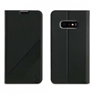 Etui Galaxy S10e porte cartes Noir - Muvit