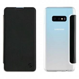 Etui Galaxy S10e Folio Noir - Muvit