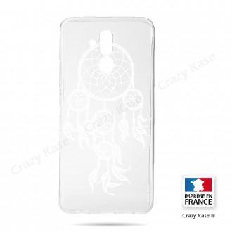 Coque Huawei Mate 20 Lite souple motif Attrape Rêves Blanc - Crazy Kase