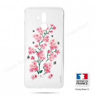 Coque Huawei Mate 20 Lite souple motif Fleurs de Sakura - Crazy Kase