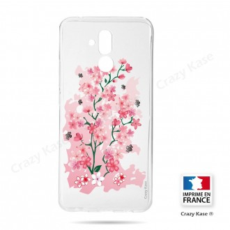 Coque Huawei Mate 20 Lite souple motif Fleurs de Cerisier - Crazy Kase