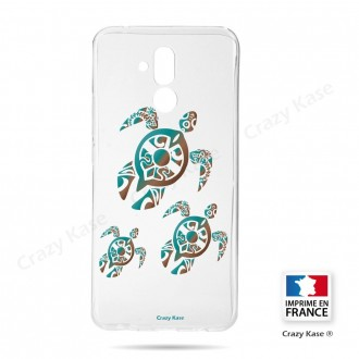 Coque Huawei Mate 20 Lite souple motif Famille Tortue - Crazy Kase