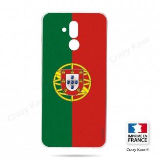 Coque Huawei Mate 20 Lite souple motif Drapeau Portugais - Crazy Kase