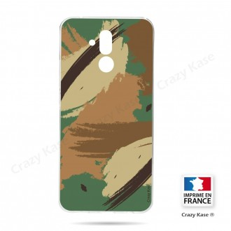 Coque Huawei Mate 20 Lite souple motif Camouflage - Crazy Kase