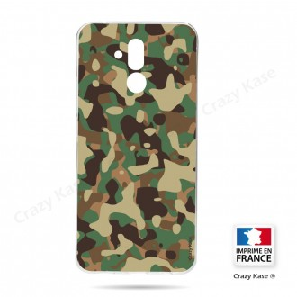 Coque Huawei Mate 20 Lite souple motif Camouflage militaire - Crazy Kase