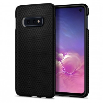Coque Galaxy S10e Liquid Air noir mat - Spigen