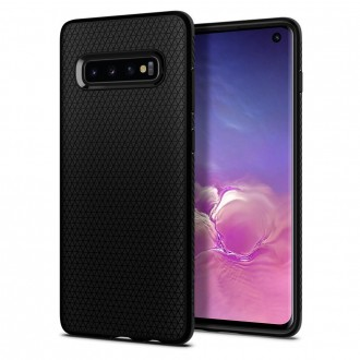 Coque Galaxy S10 Liquid Air noir mat - Spigen