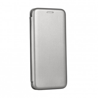 Etui Huawei P Smart 2019 Folio Gris argent - Forcell