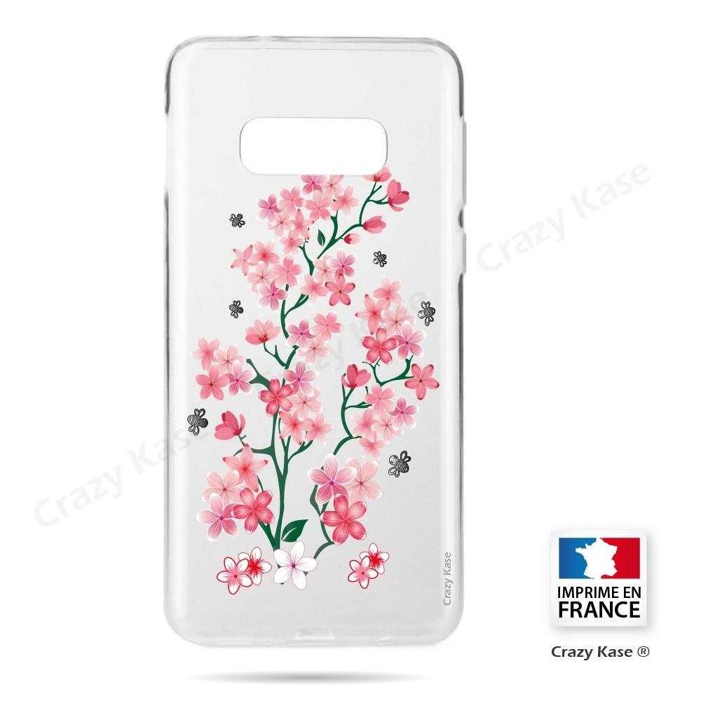 Coque Galaxy S10e souple motif Fleurs de Sakura - Crazy Kase