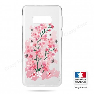 Coque Galaxy S10e souple motif Fleurs de Cerisier - Crazy Kase