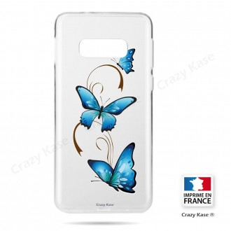 Coque Galaxy S10e souple motif Papillon sur Arabesque - Crazy Kase