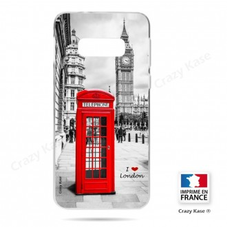 Coque Galaxy S10e souple Londres - Crazy Kase