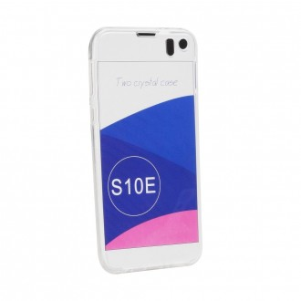 Coque Galaxy S10e protection 360° Transparente souple - Crazy Kase