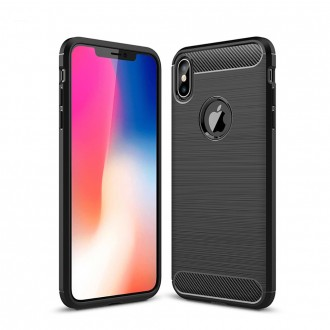 "Coque iPhone Xs Max (6,5"") effet carbone - Crazy Kase"