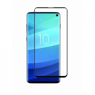 Film pour Galaxy S10e protection écran verre trempé incurvé - Muvit