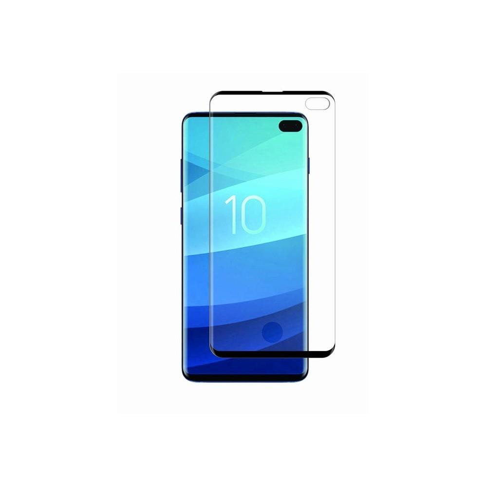Film Galaxy S10 Plus protection écran verre trempé avec applicateur - Muvit