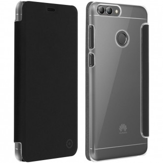 Etui Huawei P Smart Folio Noir - Muvit