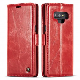 Etui Galaxy Note 9 porte-cartes Rouge - CaseMe