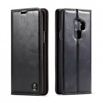 Etui Galaxy S9 Plus porte-cartes noir - CaseMe