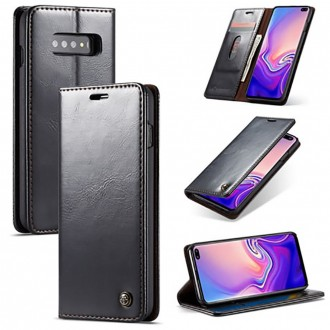 Etui Galaxy S10 porte-cartes noir - CaseMe