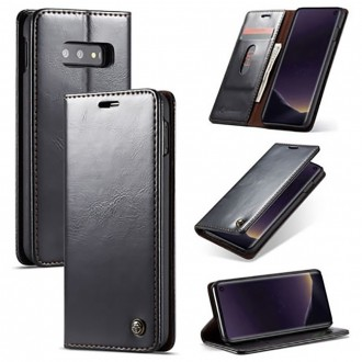 Etui Galaxy S10e porte-cartes noir - CaseMe