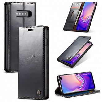Etui Galaxy S10 Plus porte-cartes noir - CaseMe